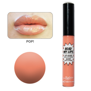 theBalm POP! (Sheer Coral) Lip Gloss