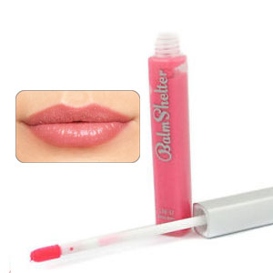 theBalm Girl Next Door (Light Bright Pink) Tinted Lip Gloss SPF 17