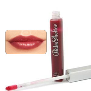 theBalm Material Girl (Sheer Plum) Tinted Lip Gloss SPF 17